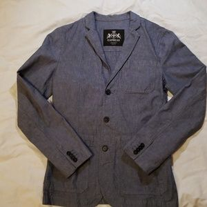 Express gray/blue sportcoat